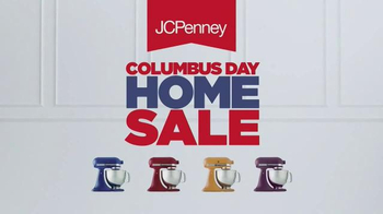 JCPenney Columbus Day Home Sale TV Spot, 'Curtains, Blankets and Luggage'