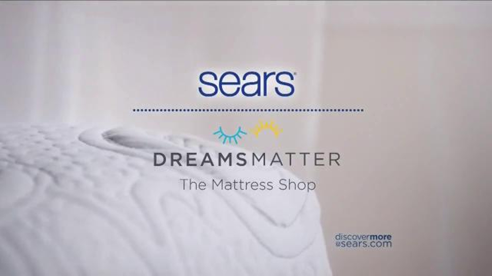 Sears Columbus Day Mattress Sale TV mercial Two