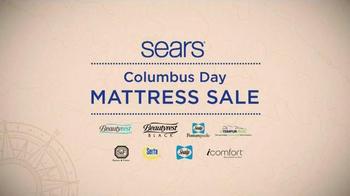 Sears Columbus Day Mattress Sale TV Spot, 'Two Thirds Better'