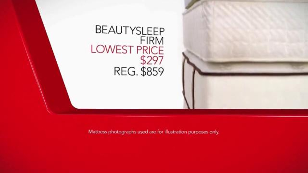 Macy s Columbus Day Mattress Sale TV mercial Lowest