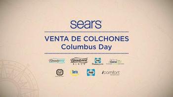 Sears Venta de Columbus Day TV Spot, 'Colchones' [Spanish]