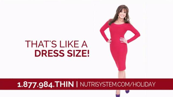 Nutrisystem TV Spot, 'Holidays' Featuring  Marie Osmond