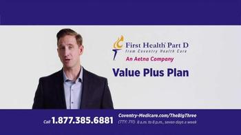 First Health Part D TV Spot, 'The Big Three'