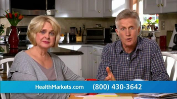 HealthMarkets TV Spot, 'Enrollment Open Now'