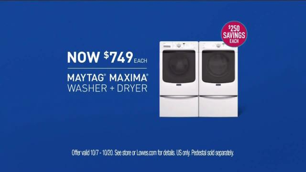 Maytag Washers & Dryers TV Spot, 'Tough Loads' Featuring Colin Ferguson - Screenshot 9
