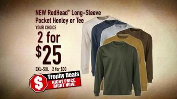 Bass Pro Shops Trophy Deals TV Spot, 'RedHead Long-Sleeve'