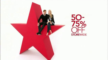 Macy's Super Saturday Sale TV Spot, 'Store-wide Savings: Red Heels'
