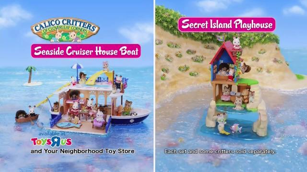 Calico Critters Seaside Cruiser House Boat TV Spot