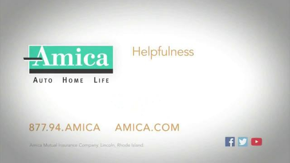 amica mutual insurance company tv commercial 39 busted side mirror 39. Black Bedroom Furniture Sets. Home Design Ideas