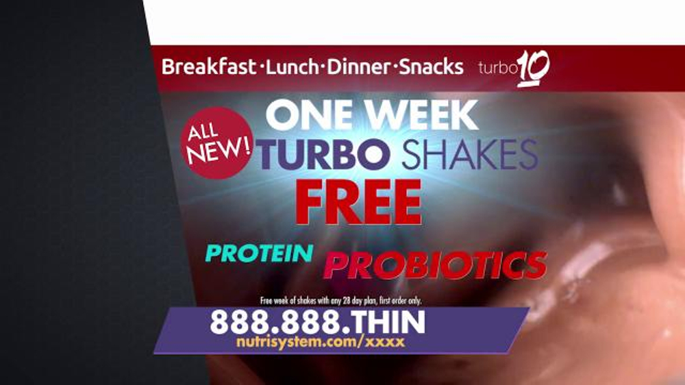 Nutrisystem Turbo 10 TV Commercial, 'Tummy: Tracker' Featuring Marie Osmond