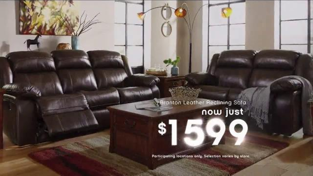 Ashley Furniture Homestore New Year S Savings Bash Tv Spot Ring In 2016 Ispot Tv