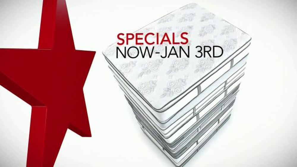 Macy s Biggest Mattress Sale TV Spot Holiday Specials