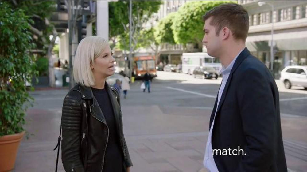 Who is jordan from match commercial