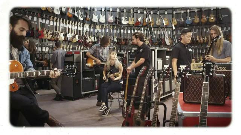 guitar center holiday savings tv spot 39 they can choose 39. Black Bedroom Furniture Sets. Home Design Ideas