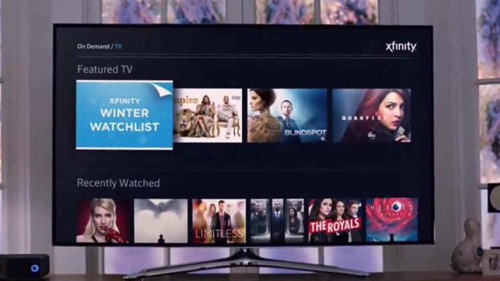 Xfinity on demand tv spot 39 winter watchlist 39 for Tv on demand