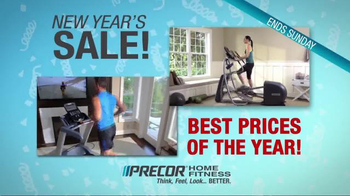 Precor Home Fitness New Year's Sale TV Spot, 'Finest Fitness Equipment'