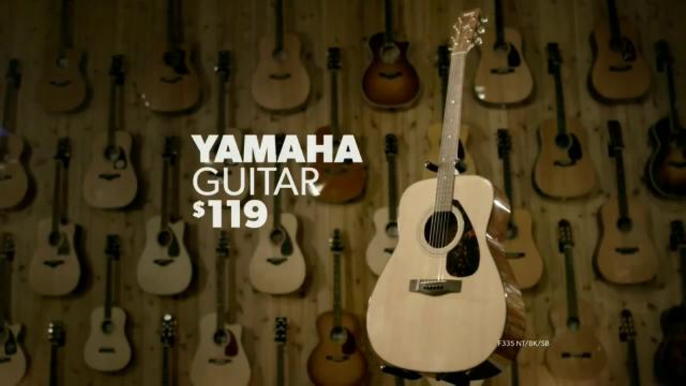 guitar center new year sale tv spot 39 guitars microphones cables 39. Black Bedroom Furniture Sets. Home Design Ideas