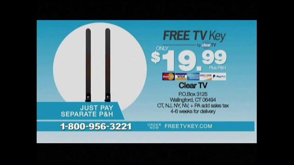 how to setup clear tv key antenna