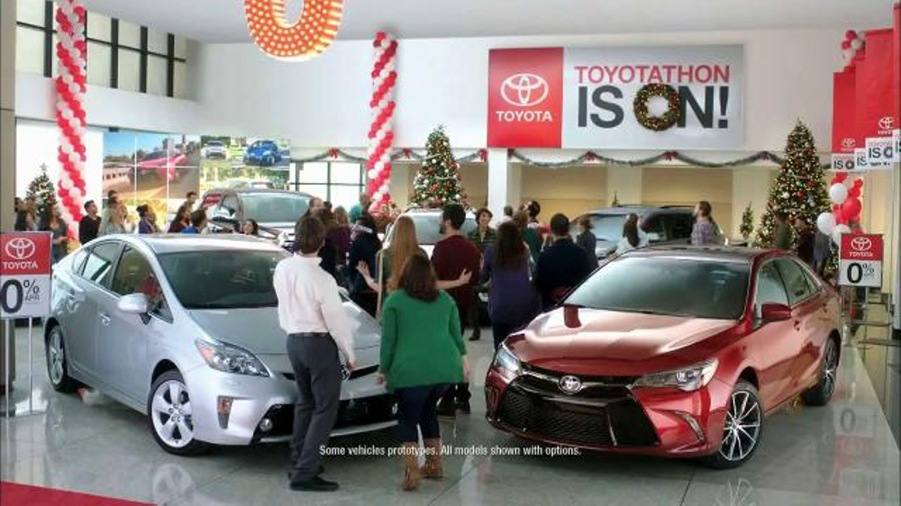 Who Is The Actress In The New Toyota Camry Commercial.html