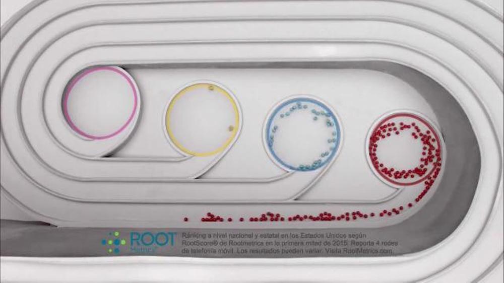 Commercial una red mejor explicada por bolas de colores spanish