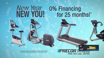 Precor Home Fitness TV Spot, 'Resolutions'