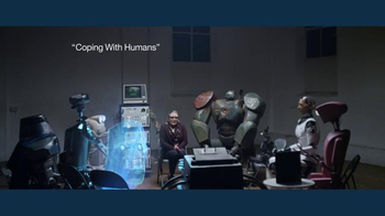 IBM: Coping With Humans: A Support Group for Bots: Carrie Fisher