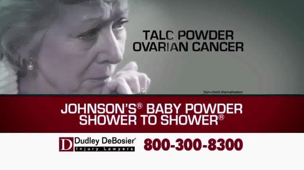 Sling Tv Tlc >> Dudley DeBosier TV Spot, 'Talc Powder Ovarian Cancer' - iSpot.tv