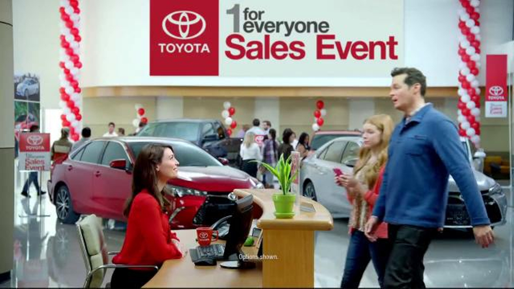Toyota Camry Commercial Song >> Toyota 1 for Everyone Sales Event TV Spot, 'Back-Up Camera ...