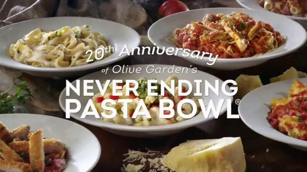 Olive Garden Never Ending Pasta Bowl Tv Commercial 39 Celebration 39