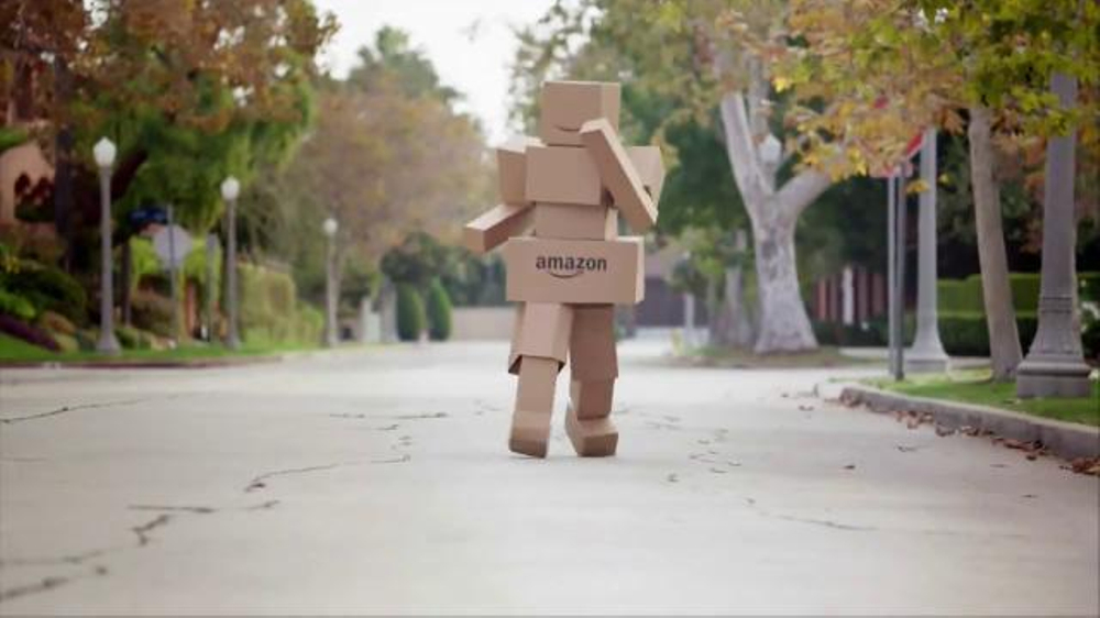 Amazon Black Friday Deals Week TV Commercial, 'Box Man ...
