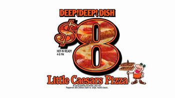 Little Caesars DEEP!DEEP! Dish Pizza TV Spot, 'One More Time'