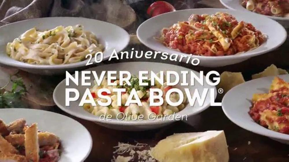 Olive Garden Never Ending Pasta Bowl Tv Commercial 39 Plato De Pasta 39 Spanish