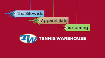 Tennis Warehouse Sitewide Apparel Sale TV Spot, 'Be Ready'