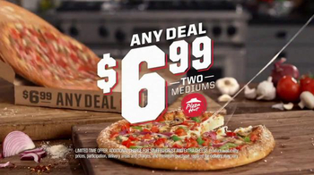 Pizza Hut $6.99 Any Deal TV Spot, 'Hot Chocolate Brownie'