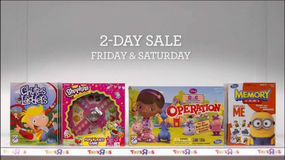 Toys R Us is offering up to 50% off 2-day sale. Also, get free shipping on orders over $ Noteable Deals: Star Wars: Episode VII The Force Awakens Stormtrooper $ $; Peppa Pig Little Kitchen Set $ $ & More. Expired.