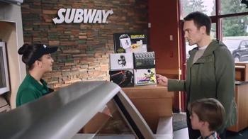 Subway Fresh Fit for Kids Meal TV Spot, 'Star Wars Messenger Bag'
