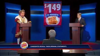 Burger King Chicken Nuggets TV Spot, 'Debate Reaction'