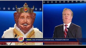 Burger King: Debate Reaction