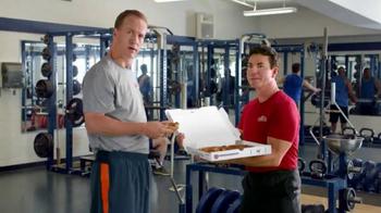 Papa John's Epic Meatz TV Spot, 'Heavy' Featuring Peyton Manning, J.J. Watt