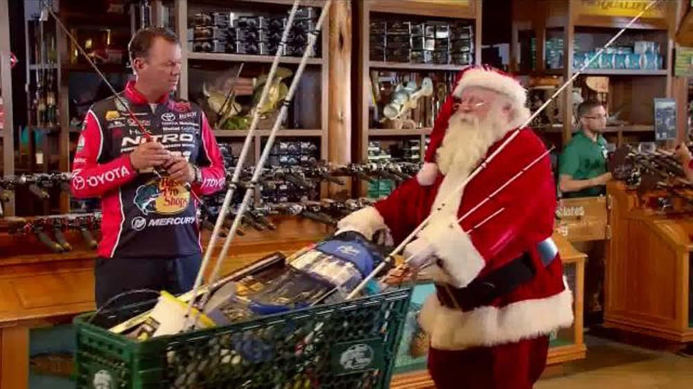 Bass pro shops thanksgiving 5 day sale tv spot 39 fish for Bass pro fishing sale