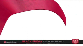 Overstock.com Black Friday TV Spot, 'Stay Home & Save'