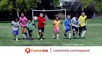 CustomInk TV Spot, 'Unidos con camisetas' [Spanish]