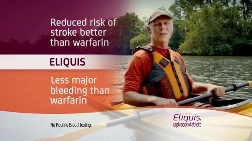 Eliquis tv spot kayaker what river newhairstylesformen2014 com