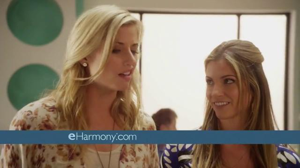 Girl In E Harmony Speed Dating Commercial