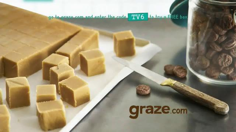 Watch, interact and learn more about the songs, characters, and celebrities that appear in your favorite Graze TV Commercials. Watch the commercial, share it with friends, then discover more great Graze TV commercials on bounddownloaddt.cf