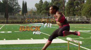 Copper Fit Back Pro TV Spot, 'The Power to Stay Active' Feat. Brett Favre