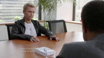 Bank of America Preferred Rewards TV Spot, 'Conference' Feat. Billy Idol thumbnail