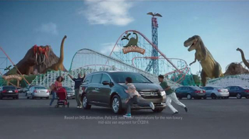Honda Odyssey TV Spot, 'Rise to the Challenge' thumbnail