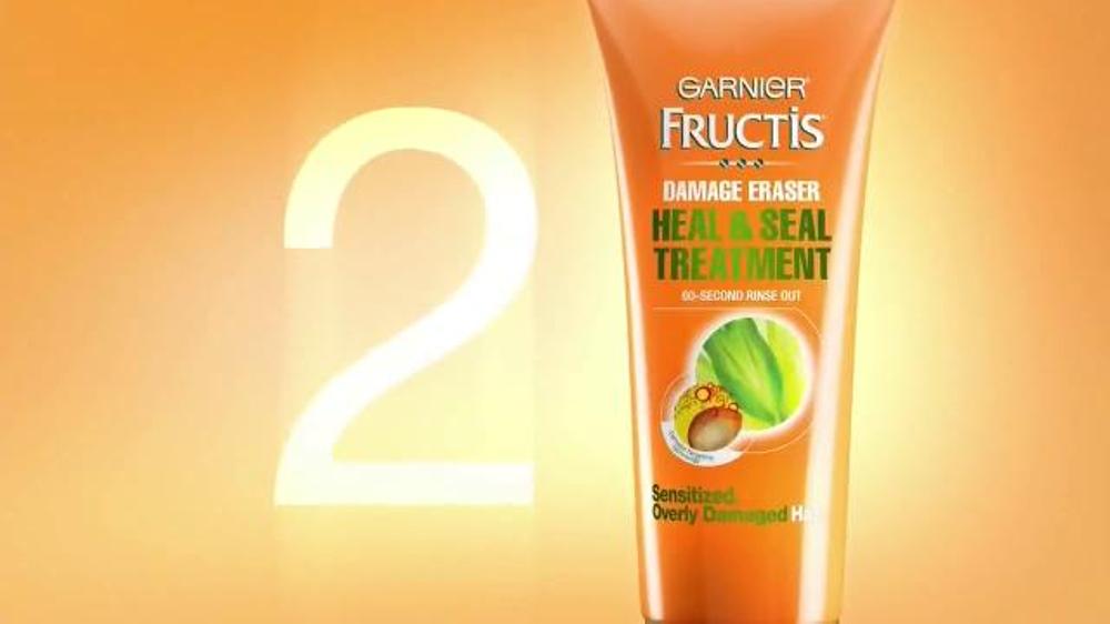 Garnier Fructis Damage Eraser TV Commercial, 'Stronger Hair' Song by ...