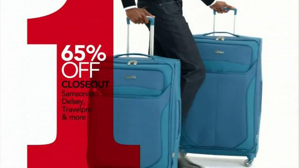 Macy S One Day Sale Tv Spot Jewelry Suits Luggage And